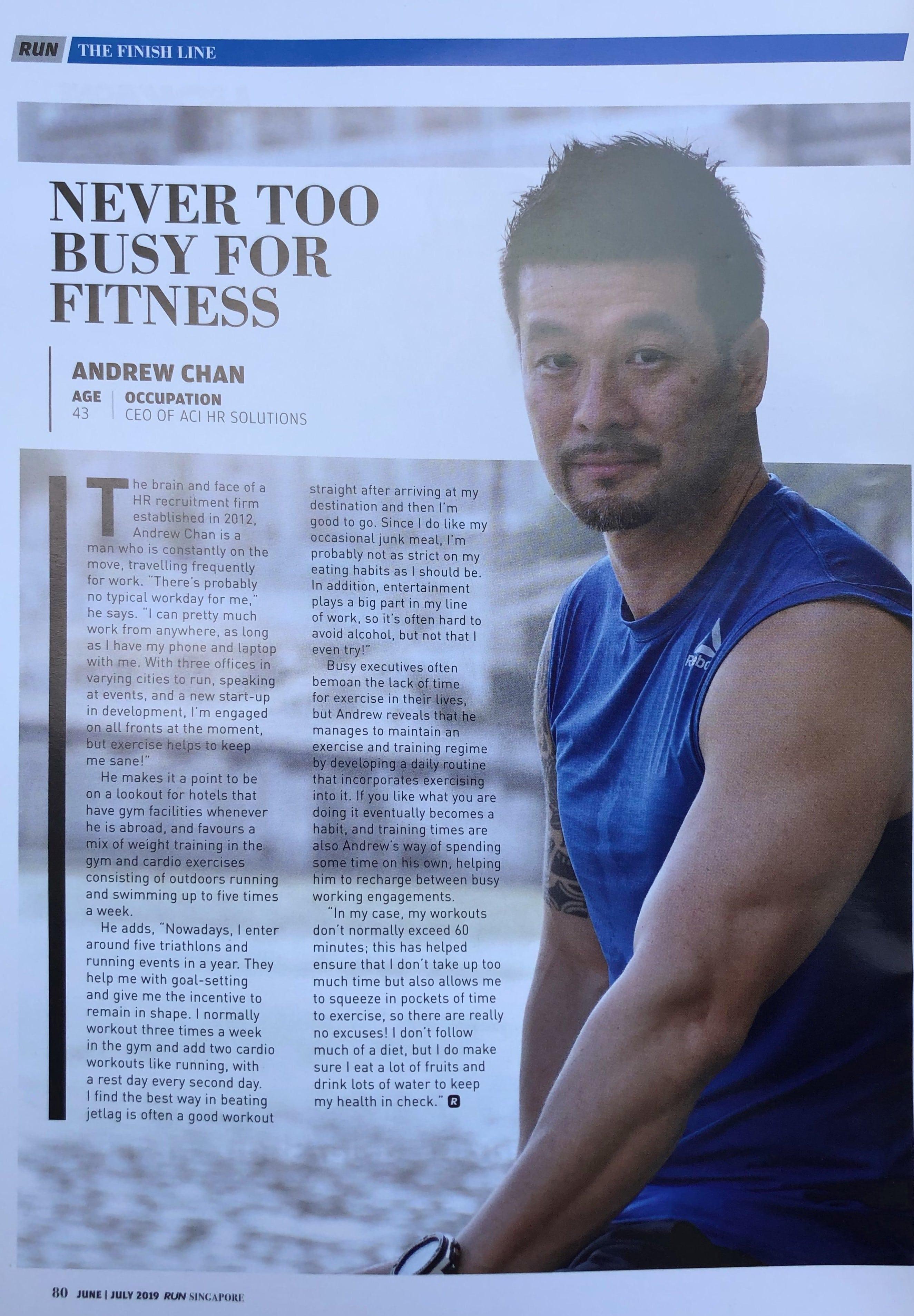 ANDREW CHAN - Media